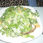 A Caesar Salad at Gheppetto's