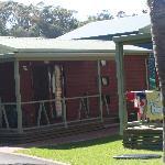 Courtyard cabin