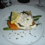 Grilled halibut main