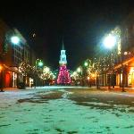 Church St in December is very beautiful !