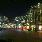 Easy to feel the Christmas spirit when shopping on Church Street...
