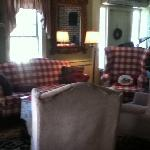 front parlor with delicious coffee!