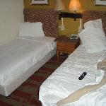 my second stay - room had 2 single beds