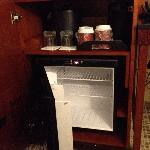 Fridge and Coffee