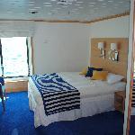 Double cabin at La Pinta yacht