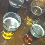 try their samplers before making your choice of beer