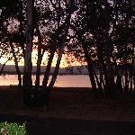 Cabin - Lake night view