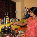 Meena's is showing Indian cooking