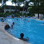 Lower pool at Kilifi