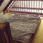 bedroom 2, mezzanine level. castle view