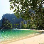 Strand auf Koh Hong (mit dem Boot zu erreichen)