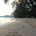 Strand auf Koh Yao Yai (nicht direkt am Resort)