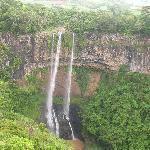 Waterfall Chamarel