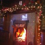 fantastic log fire!