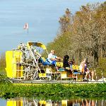 our airboat and captain