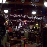 Festive decor at Ladder 1 Grill