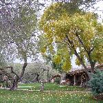 Main ranch building
