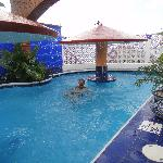 Pool at the included beach club in the town of Los Ayala