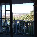 French doors open onto balcony