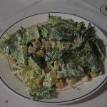 Caesar Salad - Sorry for blur - no flash - too annoying