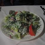 House Salad - Sorry for blur - no flash - too annoying