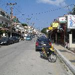 Main Street in Skala