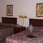 Two double beds non smoking room