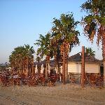 villaggio sulla spiaggia