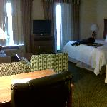 Shot of the hotel room