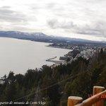 Vista da cidade de Bariloche