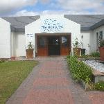 Eingang Haupthaus
