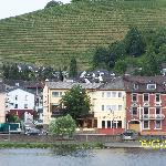 Hotel as seen from Mosel River Cruise
