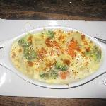 Gratin au fromage