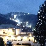 the ski slopes at sugar mountian