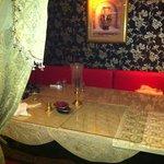 cute corner table