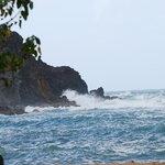 mer sur rochers