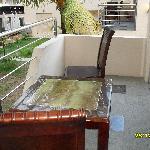 terrasse chambre 501
