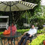 Relaxing at Ambady Resort