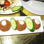 3 small falafel
