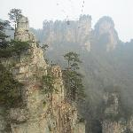 Cable car to Tianzi