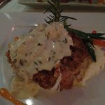 Pistachio & Ginger Crusted Grouper at Austin's Ocean One
