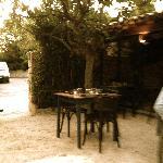 Il ristorante, il giardino
