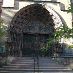 Kirchenportal Church of Holy Trinity New York