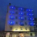 l'albergo con le decorazioni di NAtale