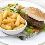 Llanerch homemade burger