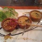 Exceptionnel: crème brûlée de foie gras, sauce au miel et poivre de séchouan