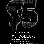 $5 Tuesday