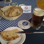 great german beer and bread