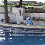 The Swim-Up Bar and lunch place