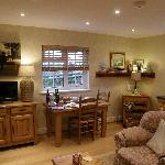 Gardeners Cottage Living area
